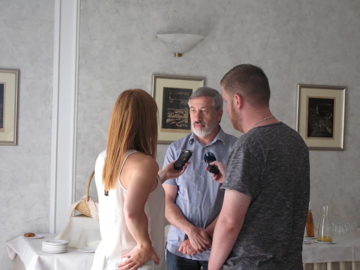 Novinarska Konferenca Marko Gerl